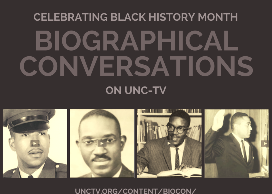 Black History Month + Biographical Conversations