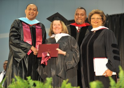 Barbara Goodmon Receives Honorary Doctorate from Shaw University