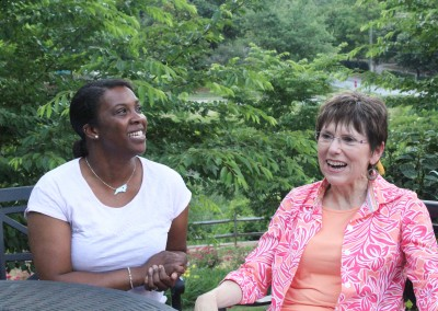 Jan Williams and Tomeika Watson, Center for Child and Family Health