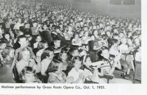 Children enjoying opera