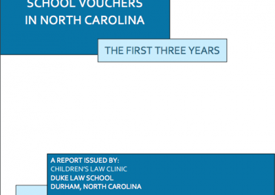 "First review of NC's school voucher program: accountability measures ""among weakest in country"""
