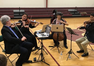 Borromeo String Quartet Performs at the Fletcher Academy